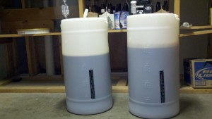 23 gallons of wort!