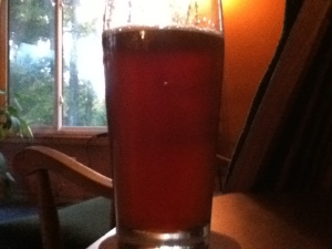 Amber Ale Brewed with Fresh Hops