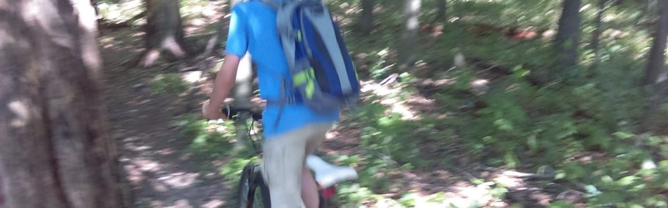 Mountain Biking With My Son